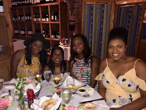 Bria, Kelsey, and Kendra