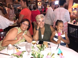 T-Celeste, Tracie, and Abigail